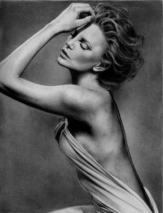 Charlize Theron, Amazing Pencil Drawings, http://hative.com/50-amazing-pencil-drawings/,