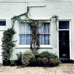 Garage Doors, London, Outdoor Decor, Instagram, Home Decor, Homemade Home Decor, Decoration Home, London England, Interior Decorating