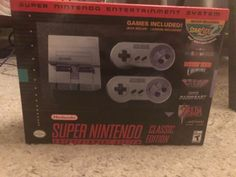 #SNES entertainment system: super nes classic edition. brand new. from $66.79