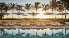 Four Seasons Hotel Surfside offers exceptional services and amenities to our guests including a luxurious oceanside spa & pool, water sports, and more.