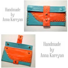 Handmade purse by me @anna__kareyan  #leatherclutch #purse #leather #ручнаяработа #кошелек #fashion #stylish #decoration #metaldecoration #design #designer #дизайн #дизайнер #handmadebag #handmadeclutch #handmadepurse #handmade #greatwork #handwork #beautiful #color #byannakareyan #Dnepropetrovsk #Ukraine #2015