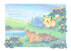 Make A Pokemon, Pokemon Fan Art, Cute Pokemon, Pokemon Tattoo, Pokemon Stuff, Digimon, Pokemon Rumble Blast, Card Captor, Otaku
