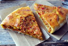 what's cooking: meat and vegetable tart Vegetable Tart, Pastry And Bakery, What To Cook, Quiche, A Food, Cooking Recipes, What's Cooking, Pizza, Vegetables