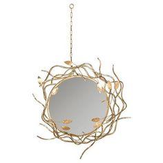 Safavieh Decorative Gold Wall Mirror