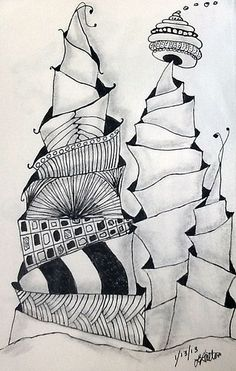 zentangle, line