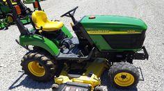 John Deere 2210, Utility Tractor, Compact Tractors, John Deere Tractors, Lawn And Garden, Lawn Mower, Outdoor Power Equipment, Gardening, Lawn Edger