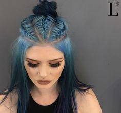 Hippie braid by Lady Lee