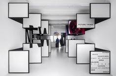 Winkelinterieur als optische illusie - PhotoID #316132 - architectenweb.nl