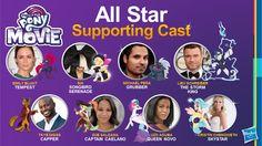 My Little Pony Movie Art Cast
