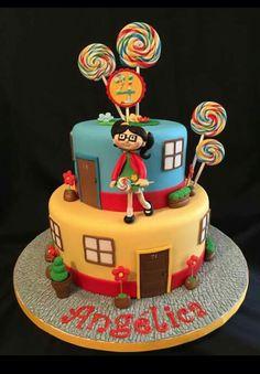 La chilindrina cake-- la vecindaf del chavo del ocho
