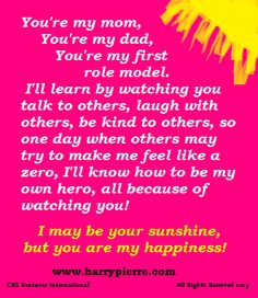 the dads life lessons and the role model for the children The following fathers day poem is a fathers day card message to show dad how you feel life lessons you may have thought i didn't see, or that i hadn't heard, life lessons that you essential father my dad is my role model for most father poems include father's day poems for.