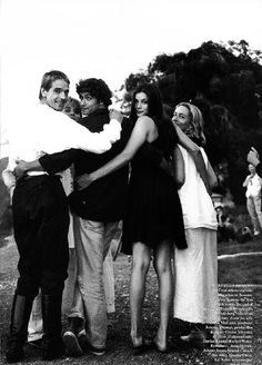 Jeremy Irons, Liv Tyler and the cast of Stealing Beauty - I adore this film.