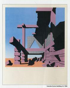 Arata Isozaki. Arts and Architecture v.4 n.2 July 1985: 40