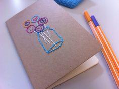 paper embroidery / missgalore.wordpress.com