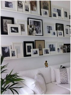 small-photos-ledge-gallery-wall