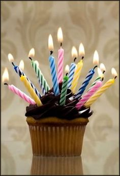 Happy Birthday cupcake :-)