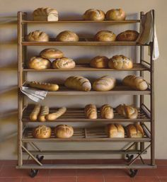 Bread Rack (oil, 66×60) by Jeffrey T. Larson, 1st place, still life, The Artist's Magazine's 2013 Annual Art Competition