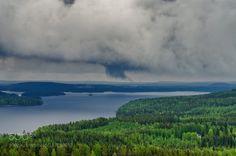 Rain Clouds (Anssi  karilahti / Heinävesi / Finland) #NIKON D7000 #landscape #photo #nature