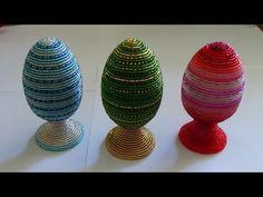 Пасхальные яйца из бисера - YouTube