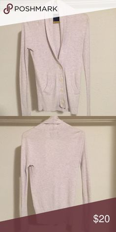Sweater Creme thermal material sweater. Good condition. American Eagle Outfitters Other