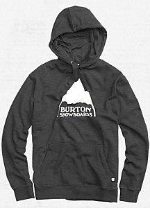 Mountain Logo Pullover Hoodie - Burton Snowboards