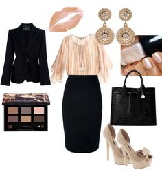 """""""Office Elegance"""" by fabiam on Polyvore"""