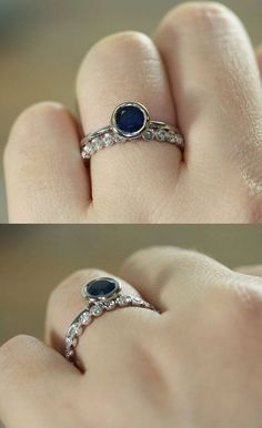 Looking for ideas for wedding band with bezel set engagement ring
