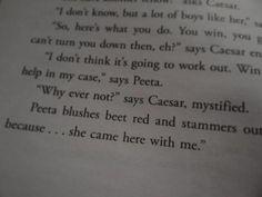 Hunger Games = best <3 story ever! Peeta and Katniss forever