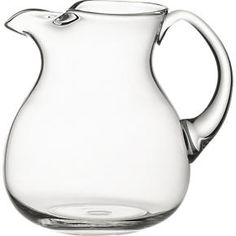 Cha Cha Pitcher in Pitchers and Decanters   Crate and Barrel