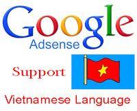 Google Adsense Support Vietnamese Language Content
