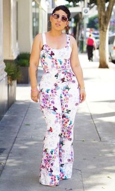 DIY Drafted Floral Jumpsuit. Now not he blog!