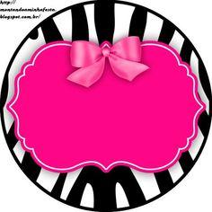 Resultado de imagem para molde rosa preto pink