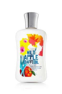 Wild Apple Daffodils Body Lotion - Leave your skin feeling soft, smooth and nourished with this playful blend of juicy red apple, flirty daffodils and fresh pomegrante. ♥ #LUVBBW