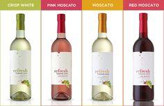 Turning Leaf Refresh Wines #WineOverIce