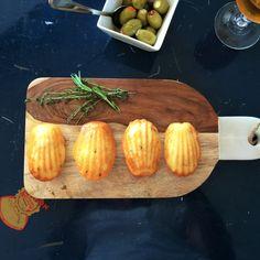 Madeleines salées au fromage Boursin