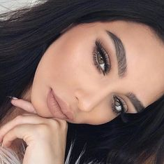 68 trendy Ideas for wedding makeup neutral eyebrows Formal Makeup, Prom Makeup, Eyebrow Makeup, Makeup Lipstick, Bridal Makeup, Wedding Makeup, Beauty Makeup, Hair Makeup, Glamour Makeup