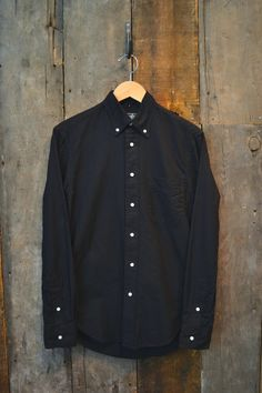 Gitman Bros. Vintage - Oxford Shirt (Black)