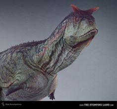 Carnotaurus. The Stomping Land by Vlad Konstantinov, via Behance