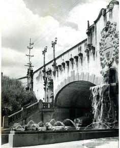 Puente Bolivar - Avenida La Salle, Los Caobos (demolido para dar paso a la avenida Libertador)