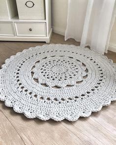 Teppiche Runde Häkeln Deckchen Teppich Häkeln Teppich Ein