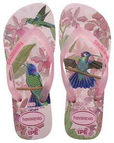 Havaianas Ipe Flip Flops - Crystal Rose - must have Havaianas for summer Cute Shoes, Me Too Shoes, Havaianas Slim, Ipanema Flip Flops, Shoe Boots, Shoes Sandals, Zapatillas Nike Air, High Heels, Flip Flops