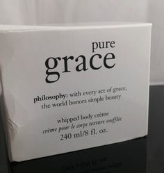 Philosophy Pure Grace Whipped Body Cream Creme 8 Oz #Philosophy