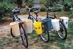 low-cost way to get more haul-age space on your bike (think post-disaster)