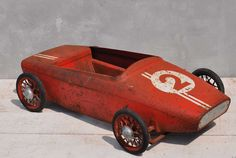 Vintage Red Lotus Pedal Car - From Homebarn Interiors Uk