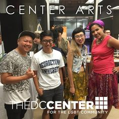 Wonderful to have poets Kit Yan and Jess X. Chen perform at the Center with special opening act, our own volunteer Minh Nguyen!  Follow our arts events at fb.com/centerarts and our events for the API LGBT community at fb.com/centerapa