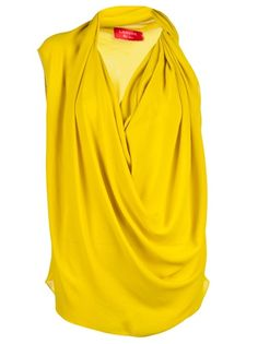 LANVIN VAULT - Draped top 6