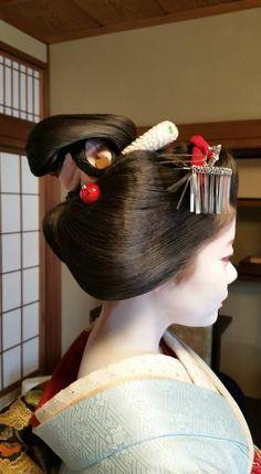 芸妓さんと舞妓さんのブログ (Great news! My favourite maiko of Pontocho -...)