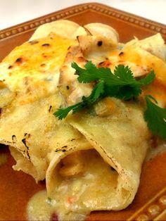 Bacon, Butter, Cheese & Garlic: Like I Said, I Really Love Enchiladas
