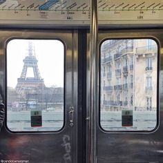 """""""Going underground... There is better in Paris, there is a place where you are in the subway, way above ground... above a bridge and you have a great view…"""""""