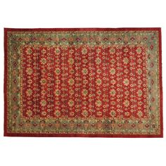 1800getarug Refurbished Handmade Oversize Peshawar Vegetable Dyes Antiqued Mahal Rug